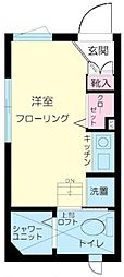 ファーストハウス北新宿[104号室号室]の間取り