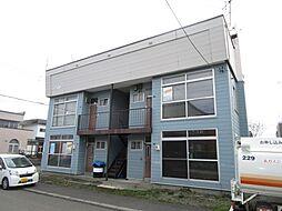 新道アパート[202号室]の外観