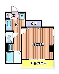 フィールド イン[4階]の間取り