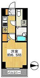 スカイコート川崎西口[406号室]の間取り