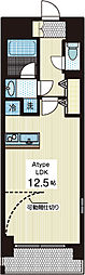 ヨシザワ18マンション[5階]の間取り