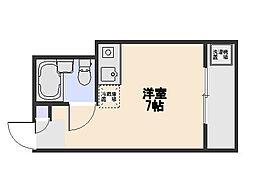 エクセル東藤沢[205号室]の間取り