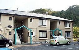 東京都八王子市梅坪町の賃貸アパートの外観