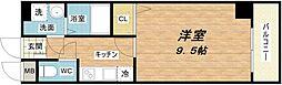大阪府大阪市都島区片町1丁目の賃貸マンションの間取り