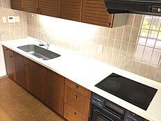 広々としたキッチンで快適です