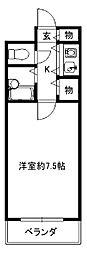 ビラ・アモーレ[3階]の間取り