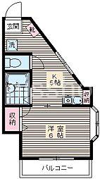 770-サン・フラワー[2階]の間取り