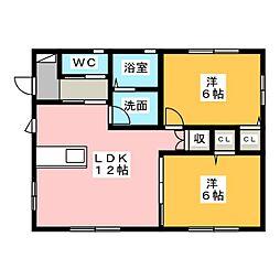 [一戸建] 静岡県浜松市南区芳川町 の賃貸【/】の間取り