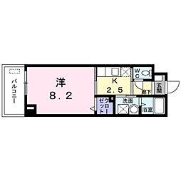 ローズガーデン[3階]の間取り