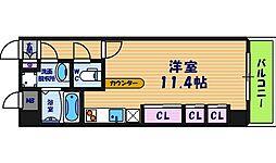 コンフォートレジデンス御堂筋本町[5階]の間取り