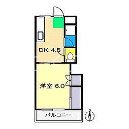 ドリームハウス寿[2階]の間取り