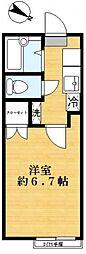 エルマーナ瑞江[1階]の間取り