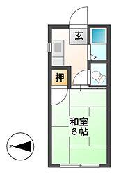 第2菊富士マンション[1階]の間取り