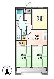 川口ビル[1階]の間取り