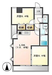 新栄Grand M[2階]の間取り