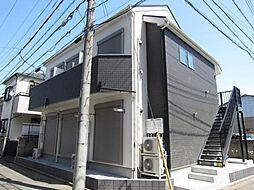 埼玉県新座市栗原1丁目の賃貸アパートの外観
