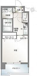 エンクレスト赤坂[9階]の間取り