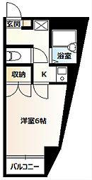 KIGARL21[401号室]の間取り