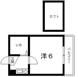 アーバンコートダイドー[4階]の間取り