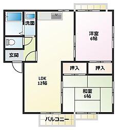 LIDEAR YAMAMOTO A棟[1階]の間取り