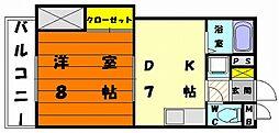 第3健ビル[2階]の間取り