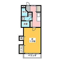 メゾン松下[3階]の間取り