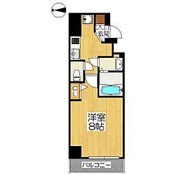 仮称)中京区神明町マンション[4階]の間取り