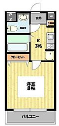 SENTIO橋本[312号室号室]の間取り