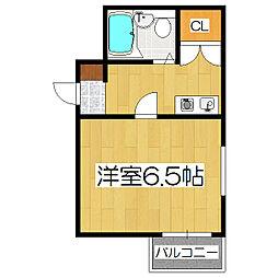 Coco Yamashina[4階]の間取り