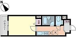ロワール関内エナジス[6階]の間取り