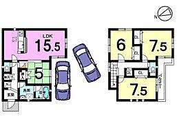 土地面積:41.54坪、駐車2台可能です。お気軽にお問合せ下さい。