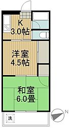 クレールマンションノグチ[2階]の間取り