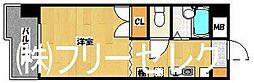福岡県福岡市博多区住吉2丁目の賃貸マンションの間取り