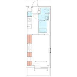 JR鹿児島本線 吉塚駅 徒歩8分の賃貸マンション 1階1Kの間取り
