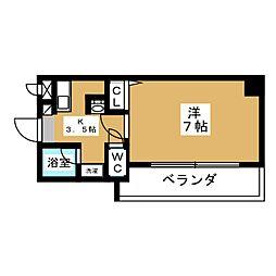 T's Dream栄[8階]の間取り