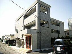 京都府長岡京市神足森本の賃貸マンションの外観