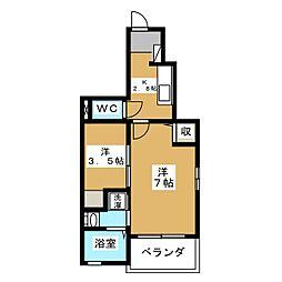 ホワイトキューブ[1階]の間取り