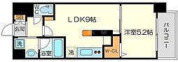 (仮称)ニコニコタクシー株式会社様プロジェクト 3階1LDKの間取り