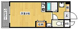 オークピアサンライズ[5階]の間取り