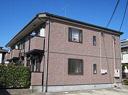 愛知県あま市上萱津左渡の賃貸アパートの外観