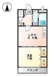 サニーメゾン[2階]の間取り