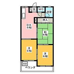吉田マンション[3階]の間取り