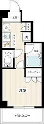 VIVRE横浜白楽弐番館[4階]の間取り