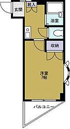 ライラックパート2[5階]の間取り