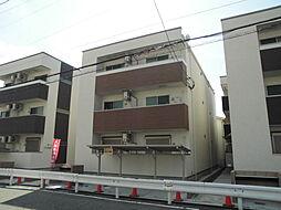 兵庫県尼崎市北竹谷町3丁目の賃貸アパートの外観
