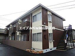 岡山県岡山市南区大福丁目なしの賃貸アパートの外観