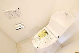 シャワー機能付きトイレです。
