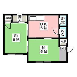 [一戸建] 栃木県宇都宮市平松本町 の賃貸【/】の間取り