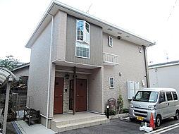 大阪府岸和田市春木旭町の賃貸アパートの外観