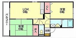 ラベンダーヴィラ[2階]の間取り
